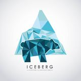 Iceberg glacier  design Royalty Free Stock Images