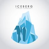 Iceberg glacier  design Royalty Free Stock Photography