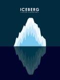 Iceberg glacier  design Stock Photography