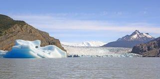 Iceberg, Glacier and Glacial Lake Stock Image
