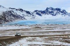 Iceberg and glacier in jokulsarlon Vatnajokull national park, Ic stock images
