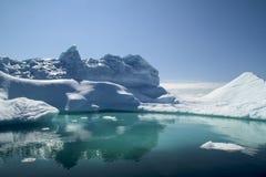 Iceberg Greenland. Beautiful iceberg in Arctic Ocean royalty free stock image