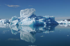 Iceberg. Greenland, big iceberg in the water Royalty Free Stock Photo