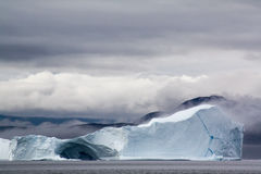 Iceberg in Greenland. Iceberg near Saqqaq in Western Greenland Stock Image