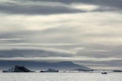Iceberg in Greenland. Iceberg near Saqqaq in Western Greenland Royalty Free Stock Photography