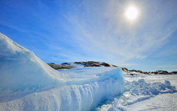 Iceberg in Greenland Royalty Free Stock Images