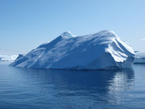 Iceberg, Groenland. Photo stock