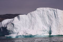 Iceberg Groenlandia fotografia stock