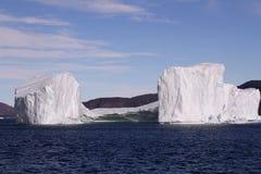Iceberg Groenlandia Foto de archivo libre de regalías