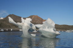 Iceberg in Hornsund, Arctic Royalty Free Stock Photography