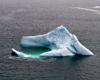 Iceberg. S along the coast of Newfoundland Stock Photos