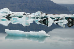 Iceberg in iceland Stock Image