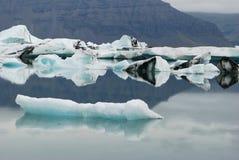 Iceberg in iceland. Iceberg in 'ice lagoon' bay, located at jokulsarlon bay in iceland Stock Image