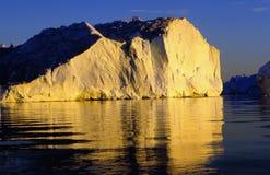 Iceberg Illulisat Imagen de archivo libre de regalías