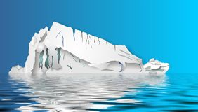 Iceberg Illustration Stock Photography
