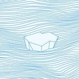 iceberg Ilustración del vector Fotos de archivo