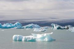 Iceberg islandêses Fotos de Stock Royalty Free