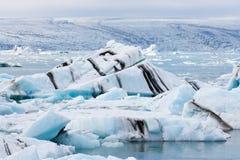Iceberg islandêses Fotografia de Stock Royalty Free