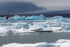 Iceberg islandêses Imagem de Stock Royalty Free