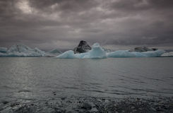 Iceberg in Islanda Immagine Stock