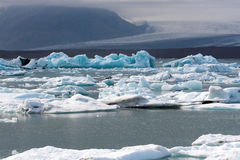 Iceberg islandesi immagine stock libera da diritti