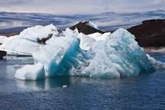 Iceberg in Jokulsarlon Stock Photo