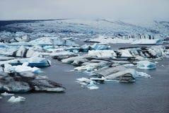 Iceberg Jokulsarlon de Islândia Imagens de Stock