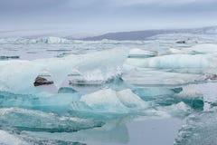 Iceberg in Jokulsarlon Glacier Lagoon, Iceland Royalty Free Stock Photography