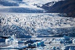 Iceberg Lagoon, Iceland Stock Photography