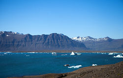 Iceberg Lagoon, Iceland Stock Image
