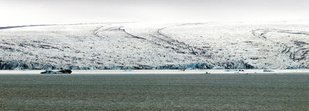 Iceberg and lagoon. Iceland Royalty Free Stock Photos