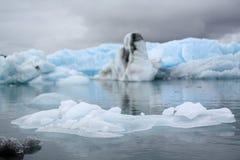 Iceberg Lagoon Stock Photo