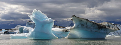Iceberg in the Lake stock photos
