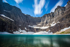 Iceberg lake Stock Photo