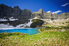 Iceberg Lake Stock Photography