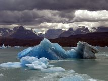 Iceberg in lake Argentino. Stock Photography