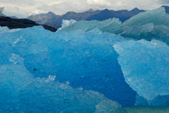 Iceberg in lake Argentino near Upsala glacier. Stock Photography