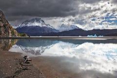 Iceberg in the lake Royalty Free Stock Image