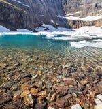 Iceberg lake Royalty Free Stock Images