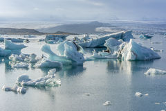 Iceberg lake, Jokulsarlon. Royalty Free Stock Photo