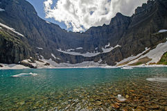 Iceberg Lake on  Summer Day Royalty Free Stock Image