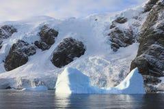 Iceberg and landscape Stock Photos