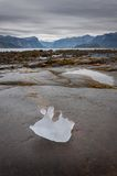 Iceberg leftover in Pangnirtung, Nunavut, Canada. 2/2 Royalty Free Stock Photography