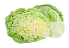 Iceberg lettuce. Royalty Free Stock Images