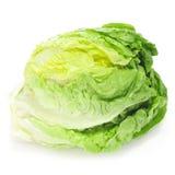 Iceberg lettuce. An iceberg lettuce on a white background Royalty Free Stock Photo