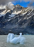 Iceberg at Mount Cook National Park - New Zealand Stock Photography