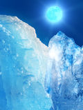 Iceberg  mountain  ice Stock Image