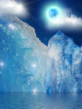 Iceberg  mountain  ice Stock Photography
