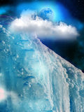 Iceberg  mountain  ice Royalty Free Stock Image