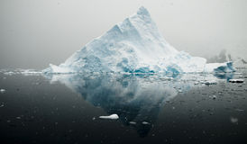 Iceberg Mountain and Reflection Royalty Free Stock Image